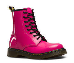 womens pink boots size 11 youth boots and shoes official dr martens store