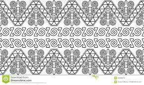 kazakh ornament stock vector image 93306679