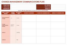 change communication plan template 28 images change management
