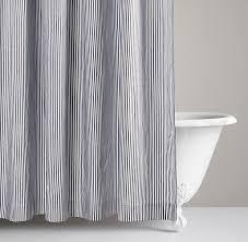 Shower Curtain Striped Peaceful Design Ideas Navy And White Striped Shower Curtain Stripe