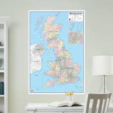 wallpops british isles dry erase map wall stickers wayfair british isles dry erase map wall stickers
