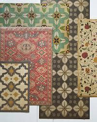vintage vinyl floorcloths garnet hill