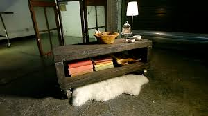 Rustic Coffee Tables With Storage Danmade Rustic Coffee Table Video Hgtv