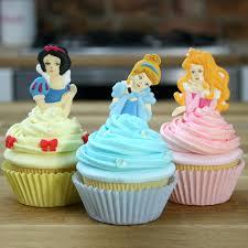 Cake Decorations Store Disney Princess Cupcake Tutorial Cinderella Snow White