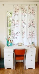 kids curtain rod home office shabby chic style with desk chair