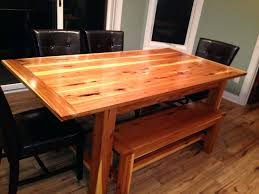 hickory dining table top high butcher block 22735 gallery