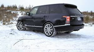 land rover snow 2016 land rover range rover hse td6 test drive review