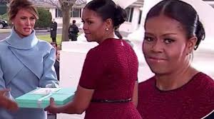 Home Design Gifts Tiffany Store by Michelle Obama U0027s Face Is Priceless As Melania Trump Presents Her
