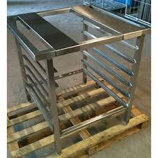 four cuisine professionnel chassis support four inox matériel de cuisine professionnel