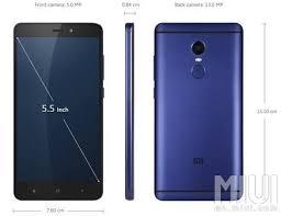Xiaomi Indonesia Xiaomi Note 4 Blue And Xiaomi Mi Note 2 Indonesia Xiaomi Miui