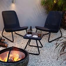 B Q Bistro Chairs Elsa Seater Garden Bistro Set Departments Diy At B Q