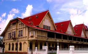 traditional big guyana house featuring wood guyanese high court