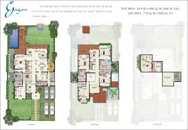 floor plans of vipul tatvam villas gurgaon villas in vipul