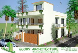 3d home design 5 marla 35x70 soan garden house 3d elevation 3d view 3d elevation 3d home