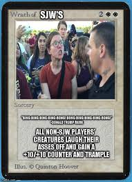 Magic Card Meme - tw magic the gathering wrath of blank imgflip