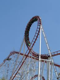 First Six Flags File Viper Vertical Loop Six Flags Magic Mountain Jpg