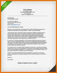 data analyst cover letter cover letter with salary samples
