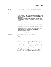 General Laborer Resume Labor Relation Resume
