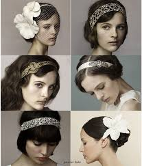 1920 hair accessories 1920s hair pieces wedding tips and inspiration