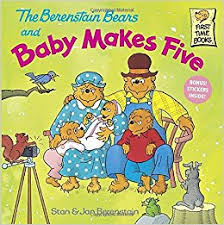 berestein bears the berenstain bears and baby makes five stan berenstain jan