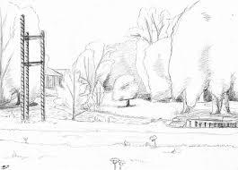 park drawing by v pk on deviantart