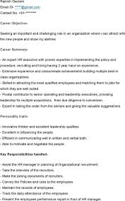sample resume of hr recruiter hr executive resume sample sample resume and free resume templates hr executive resume sample human resources executive directorvp resume sample sample resume for hr executive