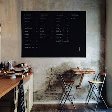 idea for the kitchen painting the wall back to white with a black