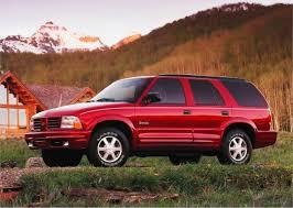 gmc jeep competitor curbside classic 1998 oldsmobile bravada u2013 lacking bravado