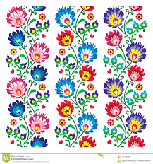 Traditional Design by Seamless Traditional Folk Polish Pattern Seamless Download From