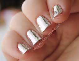 just another mani monday nail foils aka robot nails polish