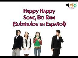 happy happy song bo ram traducción