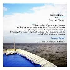 cruise wedding invitations 12 best cruise wedding invitations images on cruise