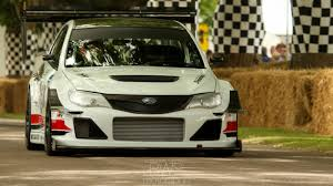 fastest subaru jump onboard the fastest car at goodwood this year