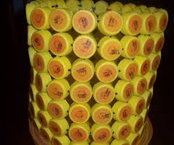 paper waste basket from bottle cups 5 steps