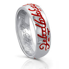 all red rings images One ring silver red fire script lord of the rings the one ring jpg