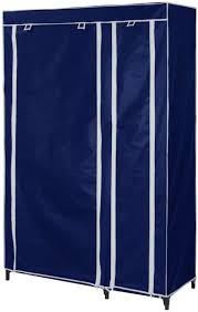 portable fabric closet wardrobe navy blue ce6100010 price