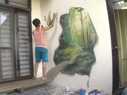 mural wall painting by picabbo 3d magic woods mural wall painting by picabbo 3d magic woods youtube