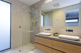 fabulous bathroom design by pivot homes his u0026 her caroma gem