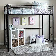 amazon com dhp x loft bunk bed kitchen u0026 dining
