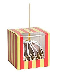 wholesale candy apple supplies candy or caramel apple box white of 100