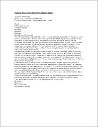 sample recommendation letter for graduate