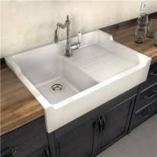 evier retro cuisine evier de cuisine a poser i moyenne 15212 ceramique blanc gabin 1 bac