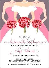 bridal brunch shower invitations bridesmaids luncheon invitations 9331 in addition to bridal shower