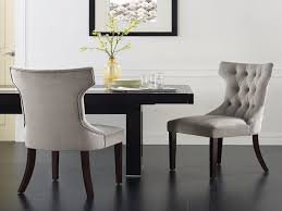 gray leather dining room chairs furniture tufted dining room chairs new dining room appealing