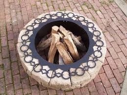 Fire Pit Liner by Round Fire Pit Insert Fireplace Rings Steel Fire Pit Liner
