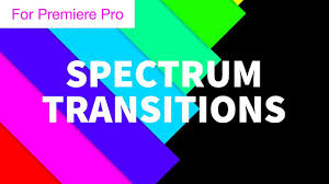 color spectrum energy levels spectrum color bar transitions motion graphics template youtube