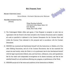 construction bid cover letter bid proposal letter european design
