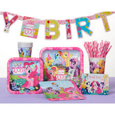 my little pony party tiaras 8 count party supplies walmart com