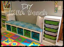 diy storage bench with ikea shelf ikea shelving unit milk