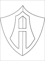 logo club atlas football club coloring pages